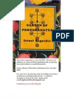 A Garden of Pomegranates - Israel Regardie