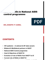 Role of NGOs in AIDS Control Programme Dr Joseph P Carel