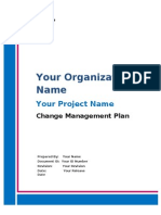 Change Management Free Sample