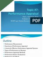 Performance Appraisal Presentation