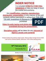 Agency Weekly Econ & Market Update 160212