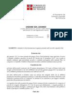 OdG Discriminazioni Di Genere - Accordo Fiat