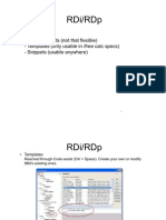 RDi Snippets (IBM Rational Developer for i)