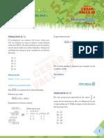 Solucionario de Matemática Miercoles 15 de Febrero UNI 2012