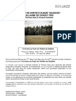 Com Presse Concerts DeChassy - 7 et 8 Mars Theatre du Chatelet