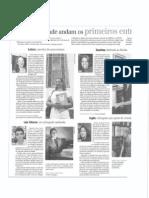 Mídia Impressa - Zero Hora e Folha de São Paulo - 01/02/2012