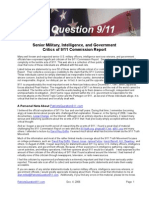 Patriots Question 9/11