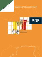 Algérie-Industrie des boissons et des jus de fruits 2007