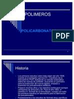 PRESENTACION POLIMEROS Policarbonato