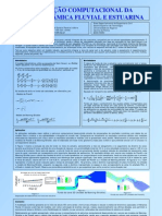 Simulação Computacional da Morfodinâmica Fluvial e Estuarina