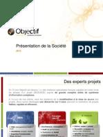 Présentation Société 2012