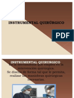 6.- Tiempos Qx e Instrumetal