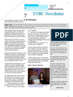 Birding Symposium in El Salvador, from SVBC Newsletter Vol 3 -No 2 (Jan 2009)