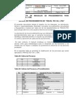 Ejemplo Manual Procedimientos