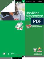 Manual Habilidad Matemática 2012