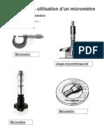 mesure avec micrometre