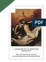 21.  Jesús en la cruz nos da certeza de no caer nunca fuera de las manos de Dios - Benedicto-XVI