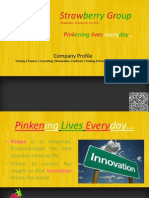 Company Profile Strawberry Enterprise Pvt. Ltd.