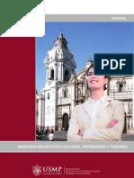 Postgrado en Turismo y Hotelería