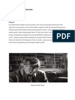 Konsep Dan Pengertian Seni Oleh HERBERT READ