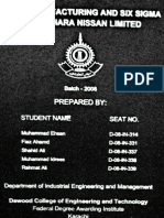 Lean Manufacturing and Six Sigma (Final Year Project)