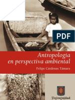 Antropología en perspectiva ambiental, Felipe Cárdenas Támara