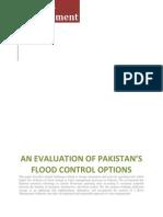 An Evaluation of Pakistan's Flood Control Options