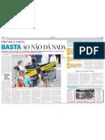 Justiça Seja Feita! - Cobertura da ação pelo Jornal Pioneiro - 10/02/12