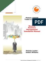 EUE43E Business Management Simulation Manual Prague 2010