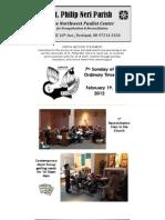 Feb19 Bulletin