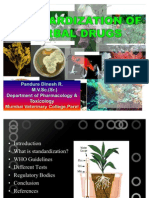 Standardization of Herbal Drugs Edited
