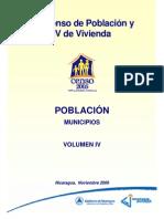 Vol.iv Poblacion Municipios