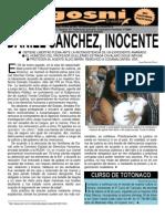 Kgosni 97-Daniel Sanchez, Inocente