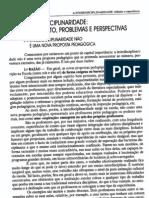 interdisciplinaridade Olga Pombo