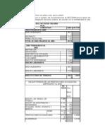 SECODAM y el cálculo del factor de salario real y precio unitario