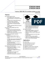 Stm32w108 Datasheet