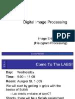 ImageProcessing3-ImageEnhancement(HistogramProcessing)