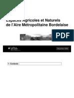 Etude Espaces Agricoles Partie 1