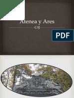 Atenea y Ares