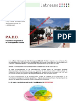 PLU - Plan d'aménagement et de Développement durable