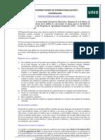 Bases Convocatoria Erasmus 2012-13