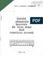 IM_101_Calculul Elementelor Incovoiate Din Beton Armat Dupa Capacitatea Portanta