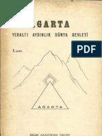 Kitap 1 Agarta-Yeraltı Aydınlık Dünya Devleti