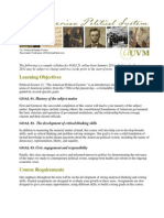 American Political System - POLS 021 OL1 - Course Syllabus