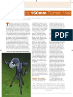 Altair 105 Rumak Maksutov Review Astronomy Now Magazine 2010