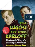 Bela Lugosi and Boris Karloff (Gregory William Mank, 2009)