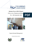 BFA 2009, EU-ASEAN Public Diplomacy - Business Networking (Integrated Report)
