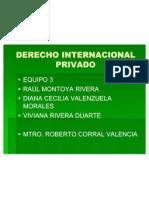 Derecho Internacional Privado Presentacion