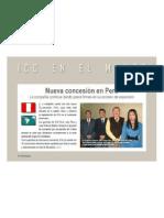 Concesion ICG Software en PERU