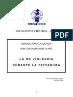 La No Violencia Durante La Dictadura